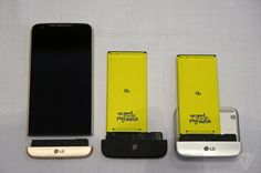 LG's G5 has a modular chin which allows additional hardware functionality. Camera grip and high-end audio modules are availableto start.