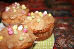 Lemon muffins.