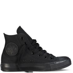 Converse Chuck Taylor All Star Shoes -Hi Black Monochrome- classic
