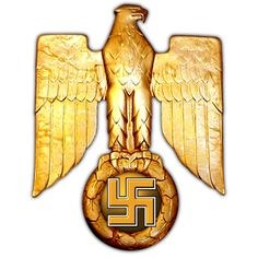 Adler des Dritten Reiches (Third Reich Eagle and Swastika) © Copyright Peter Crawford 2014