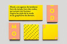 Mood / collateral by Arthur Foliard. #design #collateral