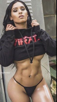 Fitness Hot & Sexy Babes Pictures - Sexy Girls with Abs