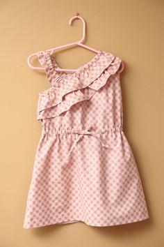 Girl's Dress PDF Sewing Pattern  The Gem One by Brynnberlee, $7.00