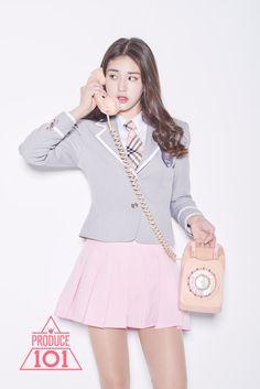 "Mnet's ""Produce 101"" reveals girl group name + 11 members - http://www.kpopvn.com/mnets-produce-101-reveals-girl-group-name-11-members/"