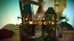 Explorando Lumino City. ¡Ven a probar! #LuminoCity goo.gl/UvFlai