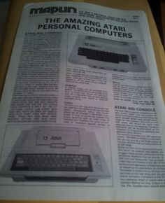 Early Maplin Atari leaflet