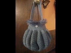 Crochet this easy pumpkin shape bag for beginners TUTORIAL #6 - YouTube