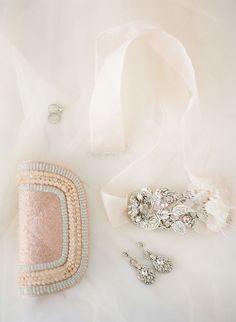 Bridal Accessories Flat lay |