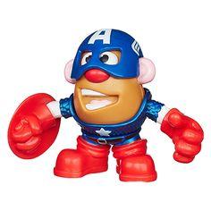 Mr. Potato Head Marvel Mixable Mashable Heroes as Captain America Set