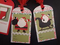 Cricut cut gift tags - cute