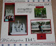 Trip to DC - Scrapbook.com