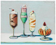 Wayne Thiebaud, Confections, 1962