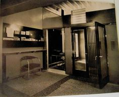 Easiwork showroom entrance- 242 Tottenham Court Road, 1931, designed by Raymond McGrath