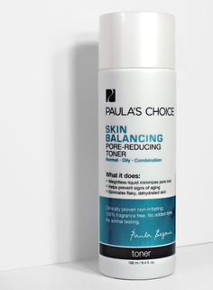 Smaller #pores start here: Skin Balancing Pore-Reducing Toner lightly hydrates + reduces redness. #PaulasChoice