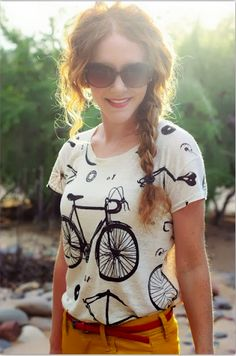 I want this bicycle shirt!