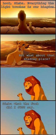 Damn you simba