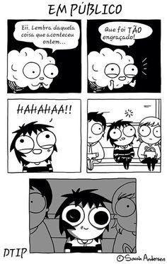 funny, sarah andersen, and comic Bild Sarah Anderson Comics, Sara Anderson, Bd Comics, Cute Comics, Funny Comics, Saras Scribbles, The Awkward Yeti, Funny Jokes, Hilarious