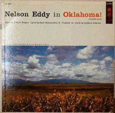 Oklahoma  Nelson Eddy 1956   LP Album Vinyl Record by DorenesXXOO
