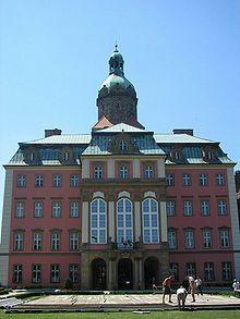 Schloss Fürstenstein – Östliche Hauptfront des Schlosses