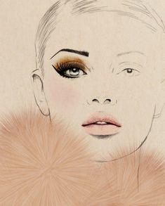 Sandra Suy illustration, fabulous... Fashionlingual: Fashion Illustration, Le Frou Frou #fashionillustrations,