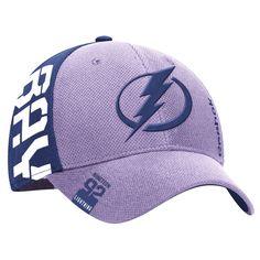 new product dd9aa 8e1ec Tampa Bay Lightning Reebok Hockey Fights Cancer Flex Hat - Purple