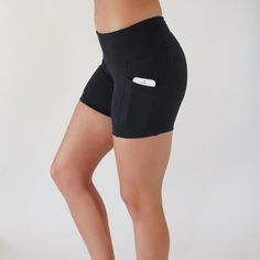 The PERFECT spandex shorts! Pocket for a phone YES.