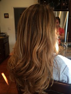 Gorgeous #livedincolor #balayage #sombre #saloninkmissionhills #saloninkteam #saloninksd #salonink hair by Liz