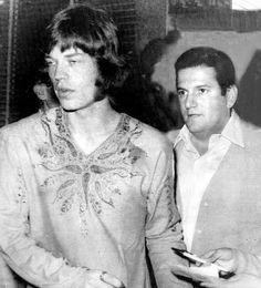 Jagger and Allen Klein