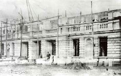 ETAPA DE CONSTRUCCIÓN DEL TEATRO NACIONAL,SAN JOSÉ,1894 // 1897.