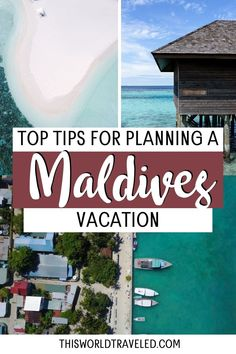 The top Maldives travel tips for planning your trip to paradise. Continue reading this information packed guide filled with useful tips including how to travel around the islands, the top things to do in the Maldives and more! maldives| maldives trip | maldives travel guide | maldives photography | maldives travel | maldives island