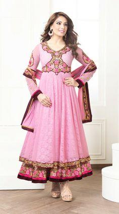 Bipasha Basu In Pink Salwar Kameez BR100738