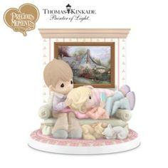 figurines by thomas kinkade - Google Search