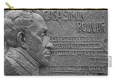 Carry-all Pouch featuring the photograph House Simon B by Francesca Mackenney
