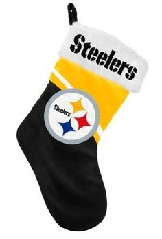 Pittsburgh Steelers NFL Football Gingerbread Man in Stocking ...