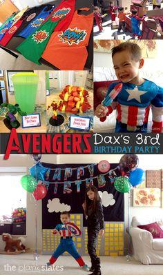 Avengers Superhero Party Ideas