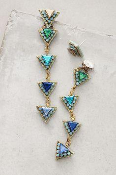 Delta Cascade Earrings - anthropologie.com