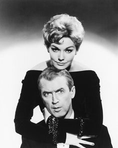 "Jimmy Stewart & Kim Novak ""Bell, Book & Candle"""