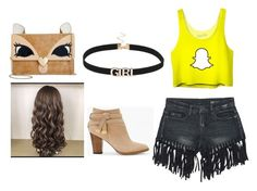 """""""snap chat💎"""" by natalia-a-miranda-velez on Polyvore featuring Sans Souci, Betsey Johnson and White House Black Market"""