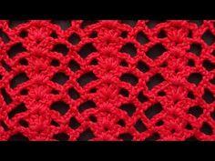 Chce pokazac panstwu bardzo ciekawy wzor krzyzowy na drutach.