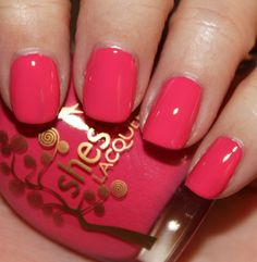 Sheswai Lacquer in Babe #nail #polish  Spring/Summer Collection