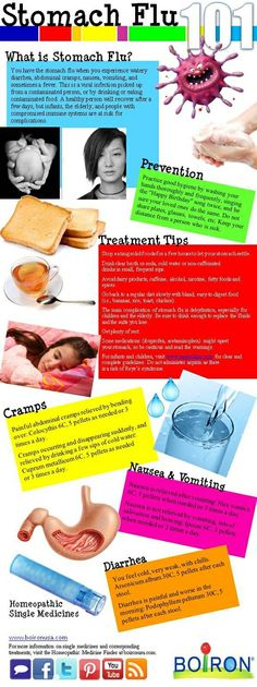 Stomach Flu 101  Recommended Homeopathic Singles