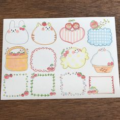 Oセット♡手描き コメント枠4 フレークシール Bullet Journal Frames, Bullet Journal For Kids, Bullet Journal Notes, Bullet Journal Banner, Bullet Journal Ideas Pages, Doodle Drawings, Easy Drawings, Planner Doodles, Page Borders Design