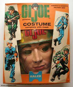 GI Joe costume in a box.
