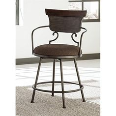 Signature Design by Ashley Moriann 24 in. Counter Stool