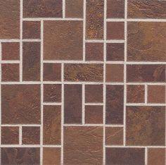 Daltile Random Mosaic Indian Red- mid- century idea
