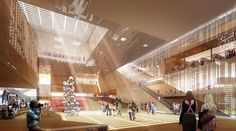 Gallery - National Library of Israel Competition Entry / ODA - 17