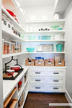 Organized Pantry (Sunny Side Up)
