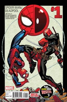 Spider-Man/Deadpool #1 - Isn't It Bromantic? Part One / Visions of the Future