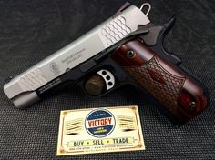 Unfired Smith and Wesson SW1911SC .45 E Series | Victory Guns & Guitar Works, LLC