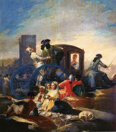 """Goya, """"The Crockery Vendor"""", 1779. 프라도 미술관"""